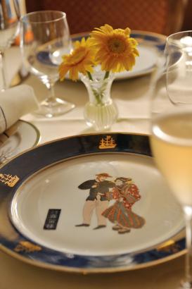 浮世絵飾り皿