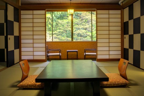 落ち着いた中にもPOPな雰囲気の和室