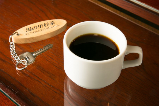 ロビーで無料珈琲のサービスがございます。