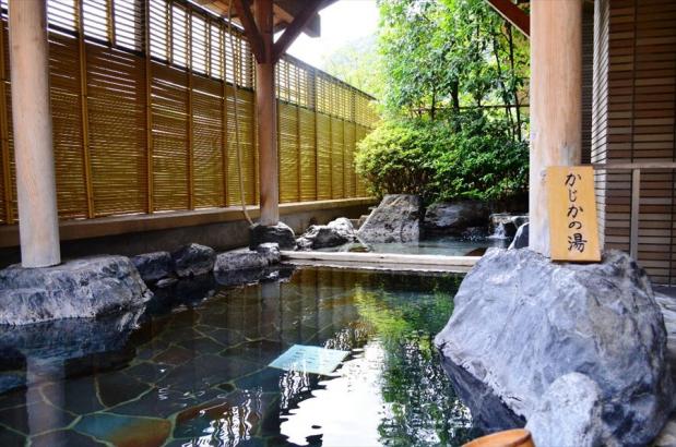 2階露天風呂「かじかの湯」