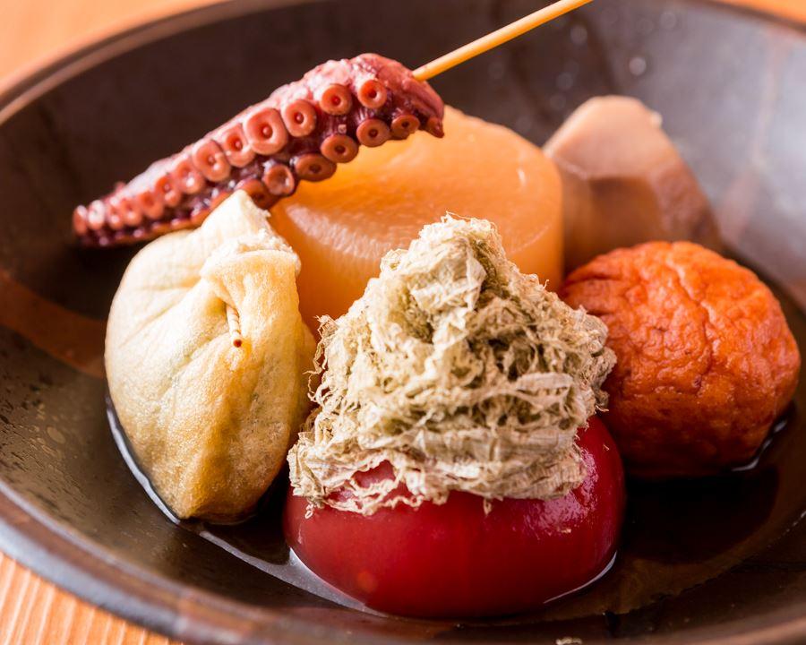 関東煮 季節の素材をおでんで