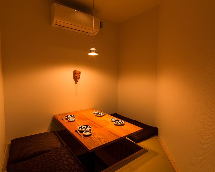 個室 5名様までの落ち着いた空間