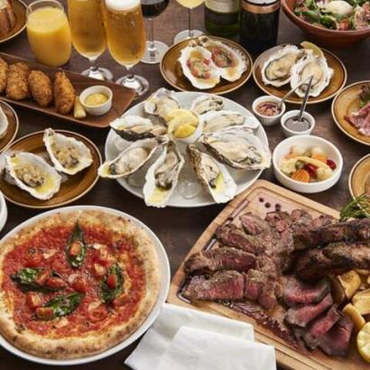 pizza&oysterハマまで5分