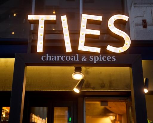 TIEScharcoal&spices(タイズチャコール&スパイス)